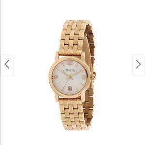 Marc by Marc Jacobs Rose Gold Watch NWOT